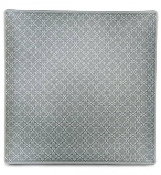 LUBIANA MARRAKESZ K1 Talerz płytki 30,5 cm / szary / porcelana
