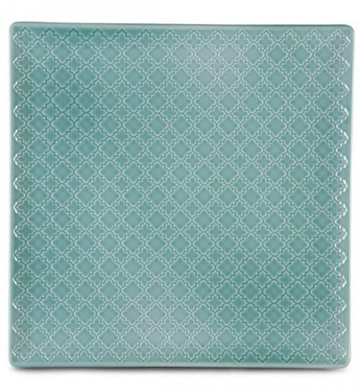 LUBIANA MARRAKESZ K5 Talerz płytki 30,5 cm / morski / porcelana