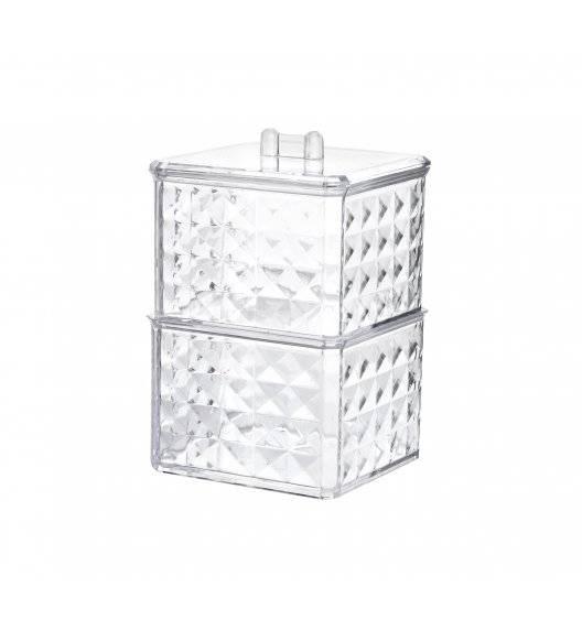 BATHLAB BEA Organizer łazienkowy 9,5 x 9,5 x 13,5 cm / tworzywo sztuczne