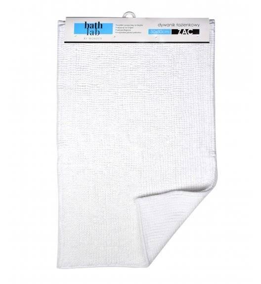 BATHLAB ZAC Mata łazienkowa / dywanik 50 x 80 cm / biały