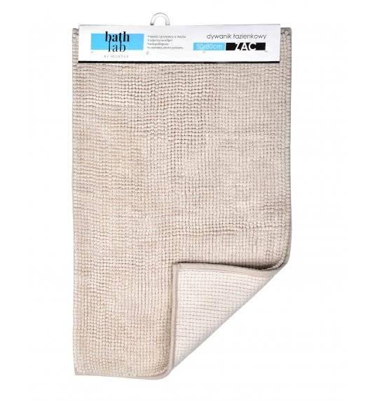 BATHLAB ZAC Mata łazienkowa / dywanik 50 x 80 cm / beżowy