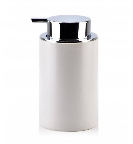 BATHLAB DAMIEN Dozownik na mydło w płynie 320 ml / biały