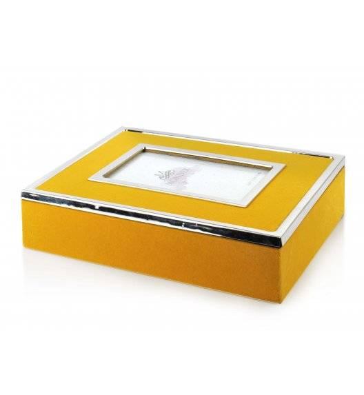 MONDEX CARMEN Szkatułka / pudełko z ramką na zdjęcie 24 x 19 x 6 cm
