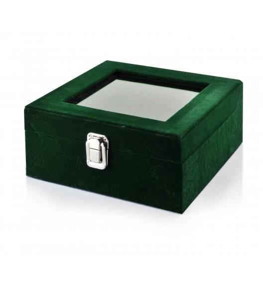 MONDEX RAMONA Szkatułka / pudełko 18,4 x 18,4 x 9,3 cm