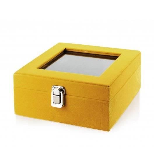 MONDEX CARMEN Szkatułka / pudełko 18,4 x 18,4 x 9,3 cm