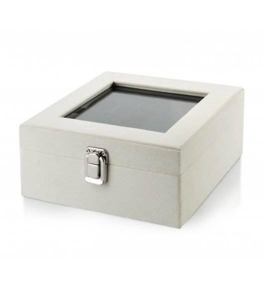 MONDEX EDUARDA Szkatułka / pudełko 18,4 x 18,4 x 9,3 cm