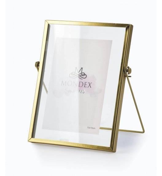 MONDEX CEDRIC GOLD Ramka na zdjęcia 15 x 20 cm / złoty