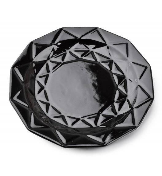 ADEL BLACK Talerz obiadowy 24 cm / czarny