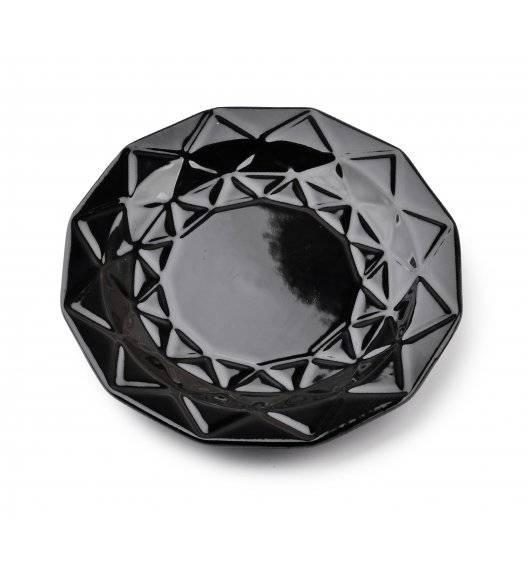 ADEL BLACK Talerz deserowy 19,5 cm / czarny