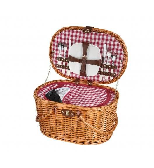 CILIO RIVA Kosz piknikowy dla 2 osób z wyposażeniem / wiklina