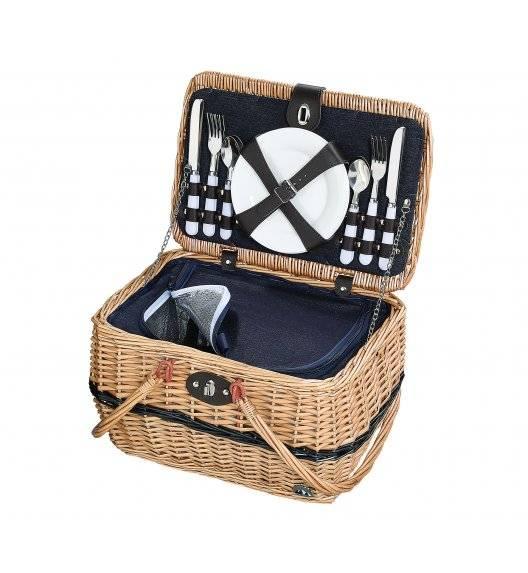 CILIO IDRO Kosz piknikowy dla 4 osób z wyposażeniem / wiklina