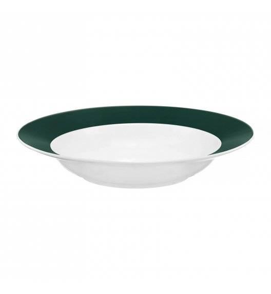 AMBITION AURA GREEN Talerz głęboki 23 cm / porcelana