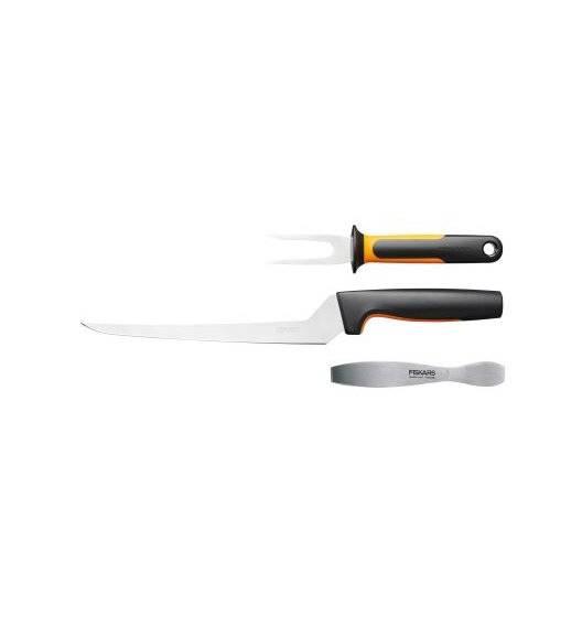 FISKARS FUNCTIONAL FORM 1057560 Trzyczęściowy komplet do ryb w pudełku / stal nierdzewna