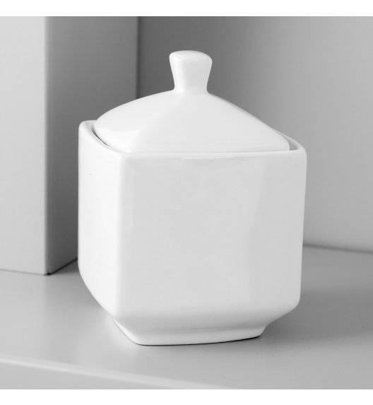 AMBITION PORTO Cukiernica z pokrywką 260 ml / Porcelana