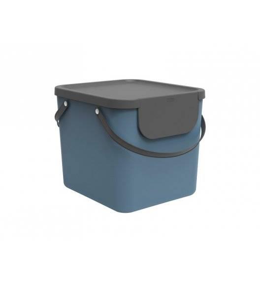 ROTHO ALBULA  Kosz z pokrywą do segregacji odpadów 40 L / niebieski