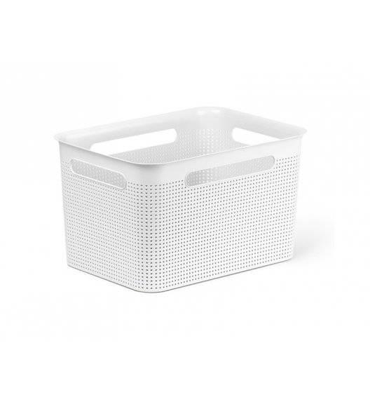 ROTHO BRISEN Koszyk 16 l / 36 x 26,2 x 21 cm / biały