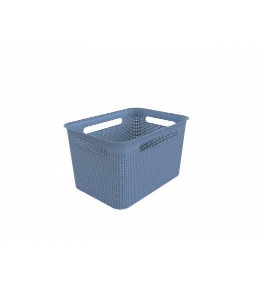 ROTHO BRISEN Koszyk 16 l / 36 x 26,2 x 21 cm / niebieski