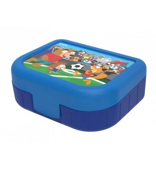 ROTHO MEMORY Pojemnik śniadaniowy / lunchbox 1 L / football