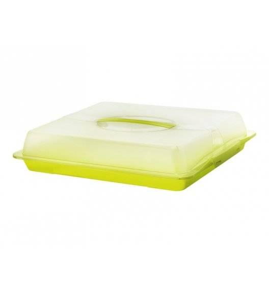 ROTHO FRESH Pojemnik na ciasto z pokrywą 47,5 x 39 x 9,8 cm / zielony
