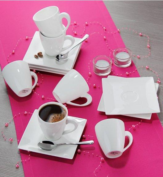 AMBITION PORTO Serwis kawowy 24 elementy dla 12 osób / Porcelana