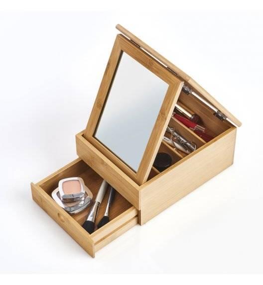 WYPRZEDAŻ! ZELLER Pudełko / organizer na drobiazgi / drewno bambusowe