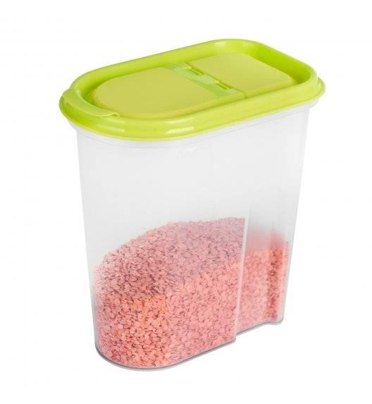 HEGA EASYOPEN NIZA Pojemnik na produkty sypkie 2 L / mix kolorów