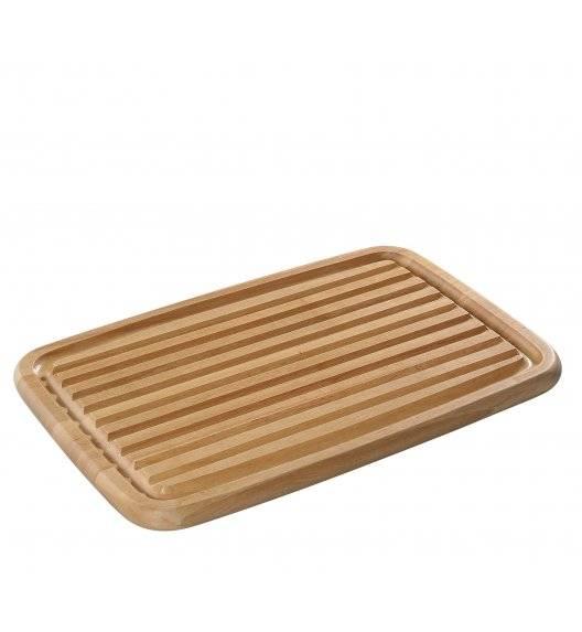 ZASSENHAUS Deska do krojenia pieczywa, kauczukowiec 42 × 27,5 x 2 cm