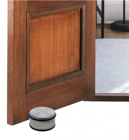 EXCELLENT HOUSERWARE Stoper / odbojnik do drzwi 5,3 x 11 cm / stal nierdzewna