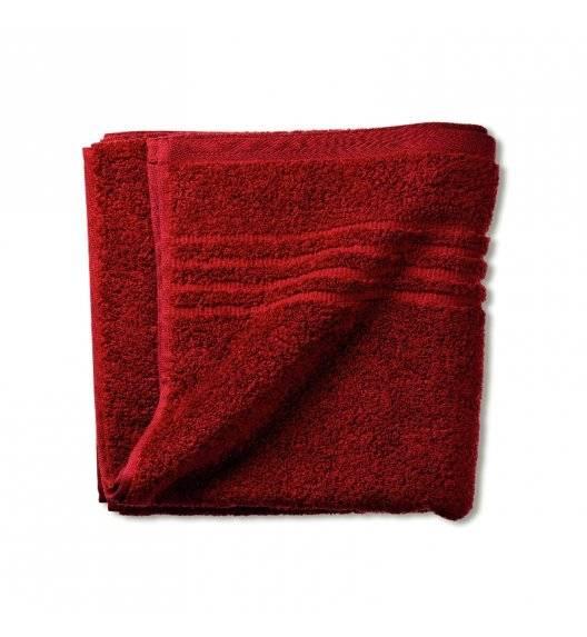 KELA LEONORA Ręcznik bawełniany 50 x 100 cm / czerwony