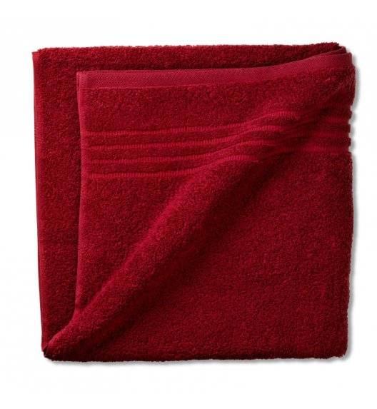 KELA LEONORA Ręcznik bawełniany 70 x 140 cm / czerwony