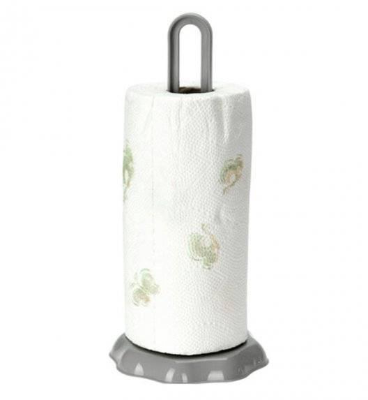 EXCELLENT HOUSEWARE Stojak na ręczniki papierowe / szary