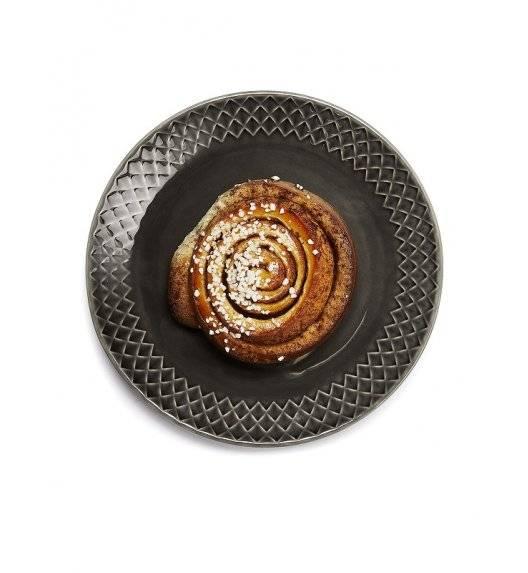 SAGAFORM COFFEE Talerz deserowy 20 cm szary / ceramika