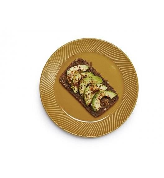 SAGAFORM COFFEE Talerz deserowy 20 cm żółty / ceramika