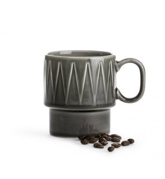 SAGAFORM COFFEE Filiżanka do kawy 0,25 l / szara / ceramika