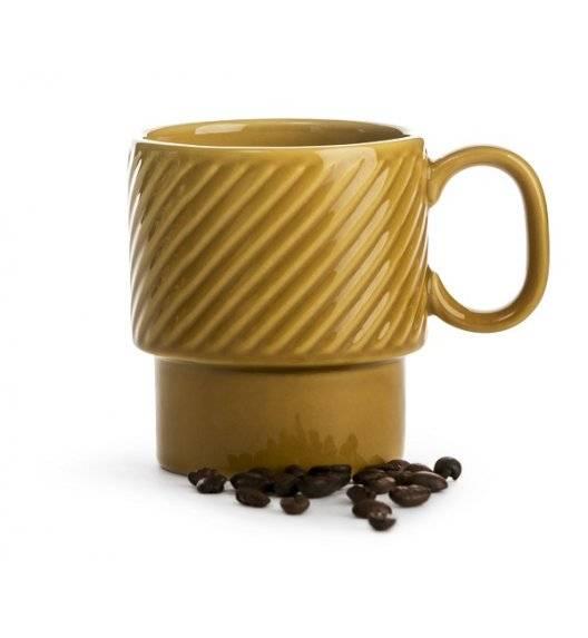 SAGAFORM COFFEE Filiżanka do kawy 0,25 l / żółta / ceramika