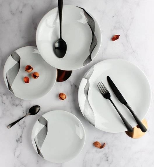 KRISTOFF OLYMPIA CHANTAL Serwis obiadowy 18 el / 6 osób / porcelana