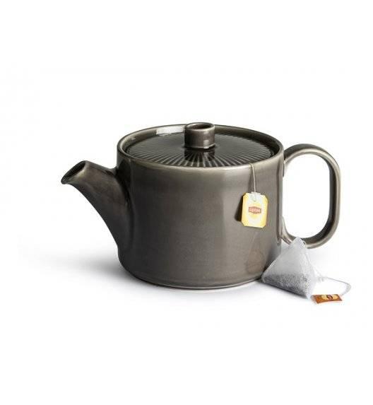 SAGAFORM COFFEE Dzbanek do herbaty 1,2 l / szary / ceramika
