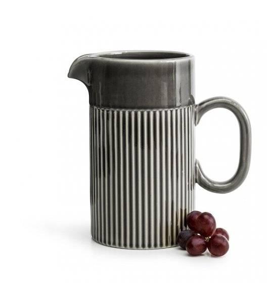 SAGAFORM COFFEE Ceramiczny dzbanek 1,0 L / szary