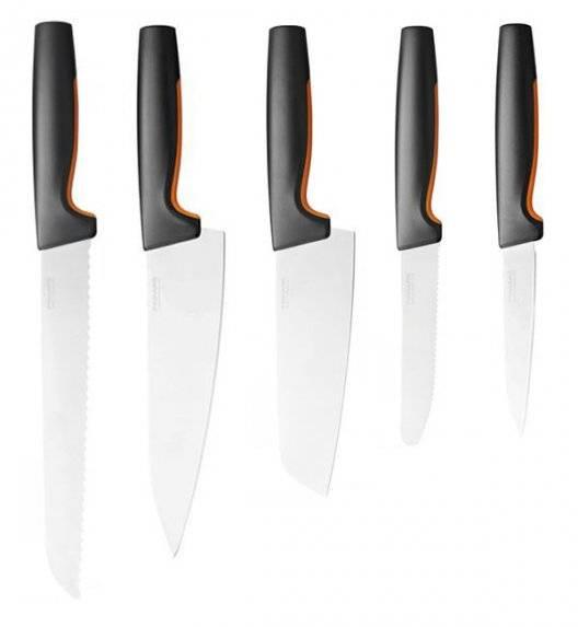 FISKARS FUNCTIONAL FORM Komplet 5 noży luzem / stal nierdzewna