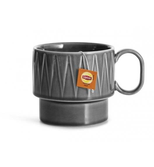 SAGAFORM COFFEE Filiżanka do herbaty 0,4 l / szara / ceramika