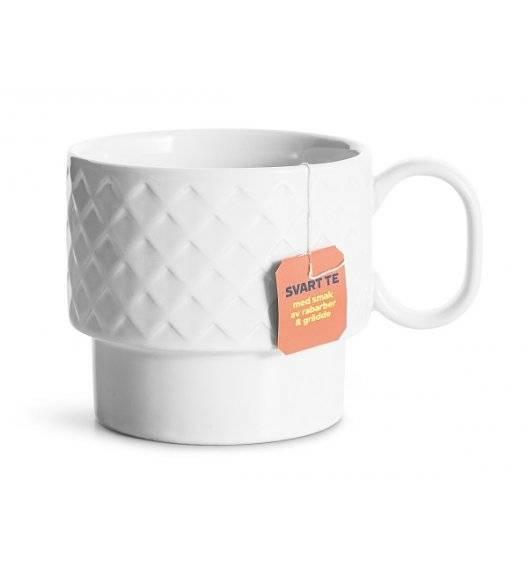 SAGAFORM COFFEE Filiżanka do herbaty 0,4 l / biała / ceramika