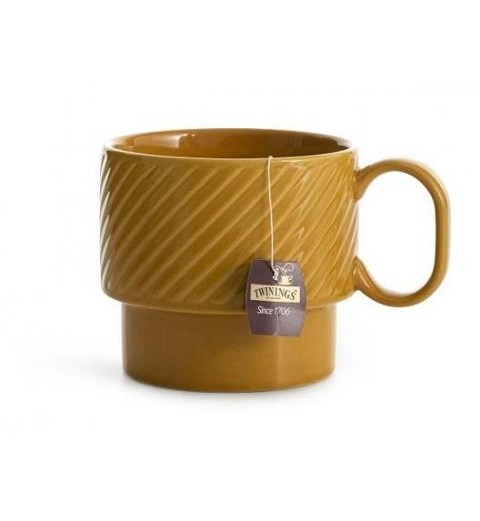 SAGAFORM COFFEE Filiżanka do herbaty 0,4 l / żółta / ceramika