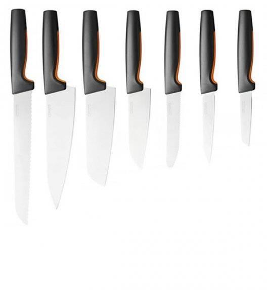 FISKARS FUNCTIONAL FORM Komplet 7 noży luzem / stal nierdzewna
