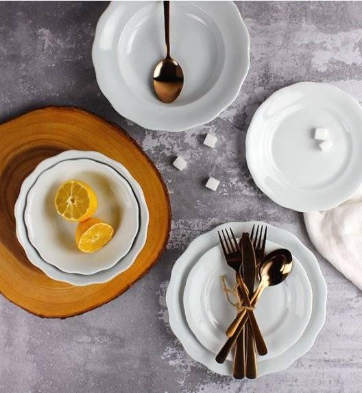 KRISTOFF ALASKA Serwis obiadowy 40 el / 12 osób / porcelana