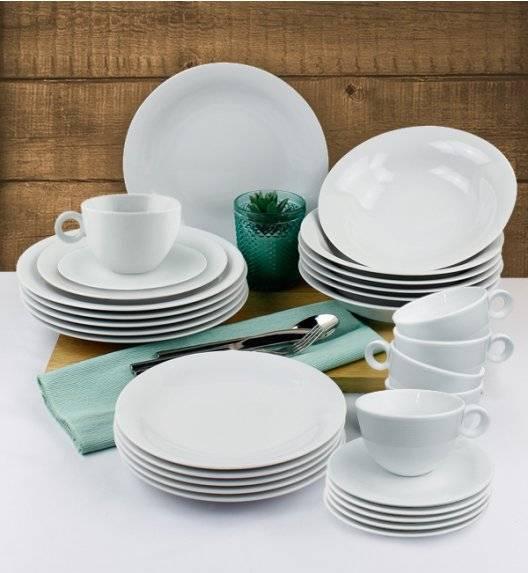 LUBIANA ETO Serwis obiadowo - kawowy 60 el / 12 osób / porcelana