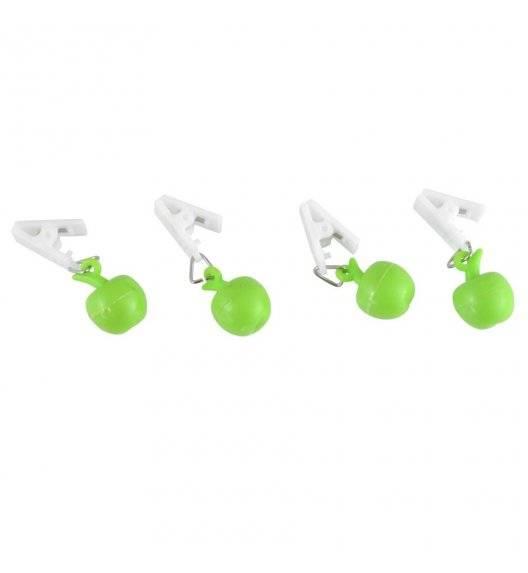 TADAR Zestaw 4 obciążników do obrusu / zielone jabłko