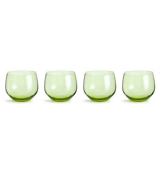 SAGAFORM INTERIOR SPECTRA Zestaw 4 szklanek 0,35 l / zielone