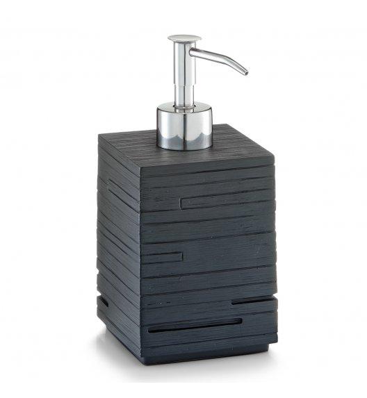 WYPRZEDAŻ! ZELLER SCHIEFER Dozownik do mydła w płynie 300 ml czarny / tworzywo sztuczne