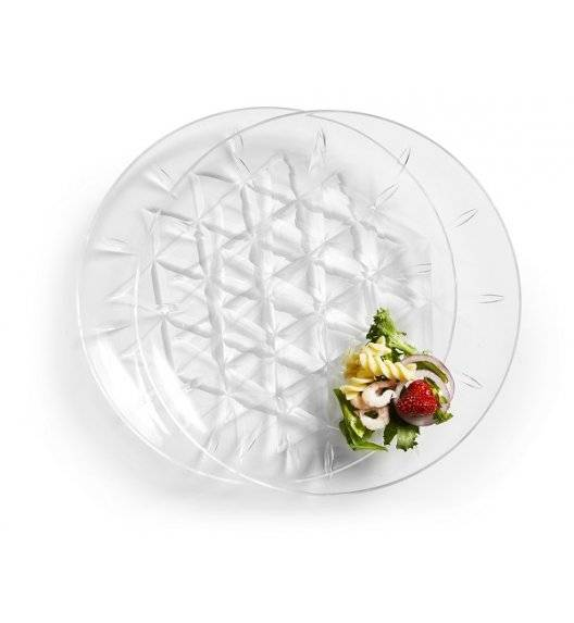 SAGAFORM OUTDOOR EATING Zestaw 2 talerzy piknikowych / akryl / 26 cm