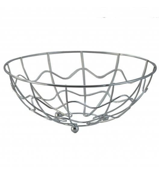 TADAR Koszyk na owoce 23,5 x 8,5 cm / srebrny